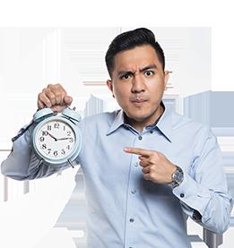 翻訳の問い合わせをしても、回答は半日後。少しの修正でも、一日かかる。何度もやり取りを繰り返し、時間だけが無駄に過ぎる。