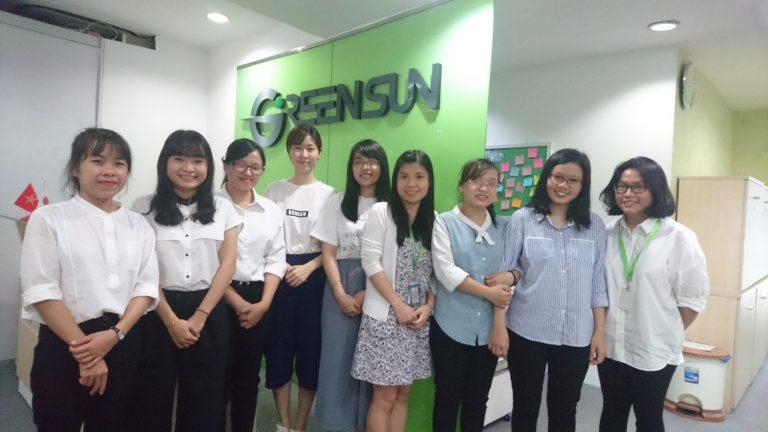 Green Sun trao học bổng sinh viên 2018