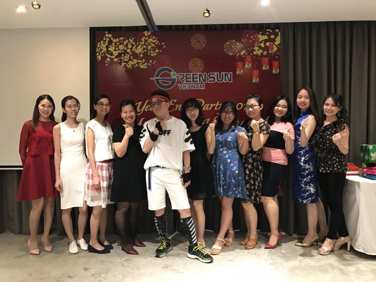 TẤT NIÊN GREENSUN 2017 – CHÚC MỪNG NĂM MỚI 2018